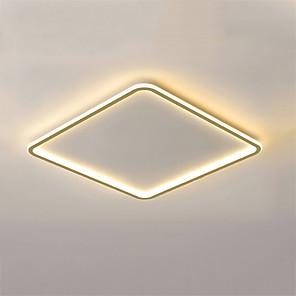 cheap LED Strip Lights-50 cm Geometric Shapes Flush Mount Lights Metal Painted Finishes Nature Inspired Modern 110-120V 220-240V