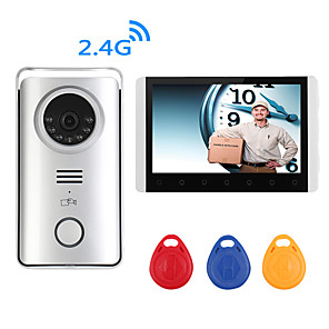 cheap Outdoor IP Network Cameras-Monitor&Sensor Waterproof / Hands-free Calling / Hands-free Messaging LCD / ABS