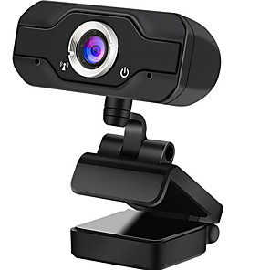 cheap CCTV Cameras-Full HD 1080P Webcam USB Mini Computer Camera Built-in Microphone Flexible Rotatable for Desktop and Gaming