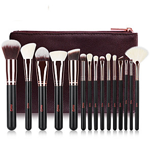 cheap Makeup Brush Sets-Professional Makeup Brushes 15pcs Professional Full Coverage Comfy Wooden / Bamboo for Blush Brush Foundation Brush Makeup Brush Eyeshadow Brush