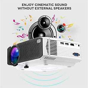 cheap Projectors-E400 Basic Version 1600 lms Mobile Phone Projector Home Wireless Home Theater and Entertainment