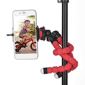 cheap Tripods & Monopods-Phone Holder Portable Flexible 360 Degree Rotation Phone Camera Tripod Holder With Clip