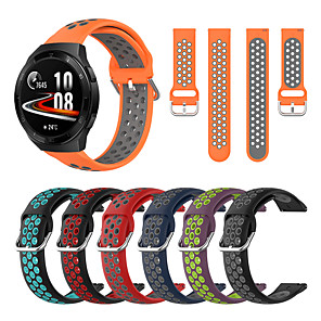 cheap Smartwatch Bands-Watch Band for Huawei Watch GT 2 / Huawei Watch GT2 46mm / Huawei Watch GT 2e Huawei Modern Buckle Silicone Wrist Strap