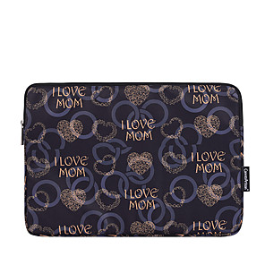 cheap Sleeves,Cases & Covers-11.6 12 13.3 14 15.6 Inch Laptop Sleeve Polyester Word Phrase Fashion for Women for Business Office for Colleages Schools Waterpoof Shock Proof