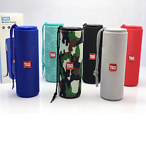 cheap Bookshelf Speakers-T&G TG604 Portable Intelligent Bluetooth Speaker Outdoor LED Flashlight Multifunctional Bluetooth Speaker Stereo Bluetooth Speaker