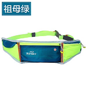 cheap Running Bags-Belt Pouch / Belt Bag Running Pack 1 L for Marathon Camping / Hiking Traveling Sports Bag Breathable Moistureproof Wearable Running Bag