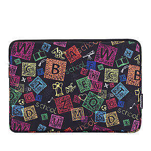 cheap Sleeves,Cases & Covers-11.6 12 13.3 14 15.6 Inch Laptop Sleeve Polyester Graphic Prints Fashion for Business Office for Colleages Schools for Travel Waterpoof Shock Proof