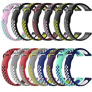 cheap Smartwatch Bands-Watch Band for Garmin Venu 20MM Garmin Sport Band Silicone Wrist Strap