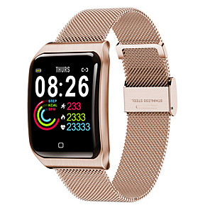 cheap Smartwatches-F9 Unisex Smart Wristbands Android iOS Bluetooth Heart Rate Monitor Blood Pressure Measurement Calories Burned Long Standby Health Care Stopwatch Pedometer Call Reminder Sleep Tracker Sedentary