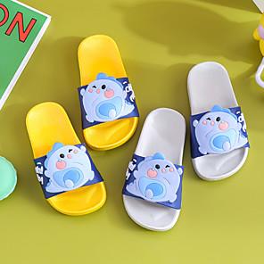 cheap Kids' Slippers-Boys' / Girls' Comfort PVC Slippers & Flip-Flops Toddler(9m-4ys) / Little Kids(4-7ys) Yellow / Pink / Blue Spring / Summer / 3D