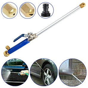 cheap Vehicle Cleaning Tools-High Pressure Power Washer Car Water Spray With Nozzle Hose Tips Garden Tool