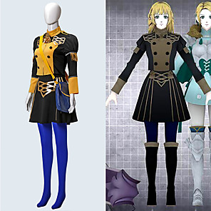 cheap Anime Costumes-Inspired by Fire Emblem Anime Cosplay Costumes Japanese Cosplay Suits Top Skirt For Women's