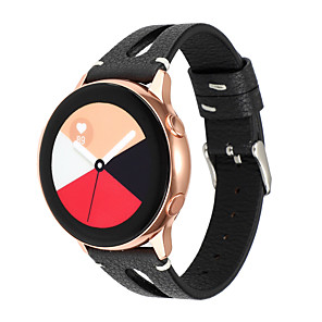 cheap Smartwatch Bands-20mm Watchband For Samsung Gear S2 Galaxy Watch 42mm Leather Strap