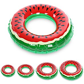 cheap Inflatable Ride-ons & Pool Floats-Inflatable Children's float watermelon Swimming Circle Adult Pool Floats Rubber Ring Donut Swim Tube Kid Pool Toys