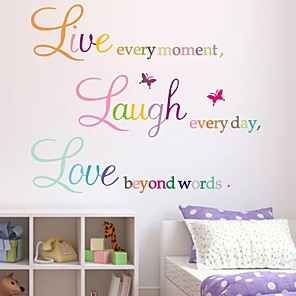 cheap Wall Stickers-Characters Wall Stickers Plane Wall Stickers Decorative Wall Stickers PVC Home Decoration Wall Decal Wall Window Decoration 1pc