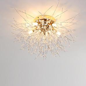 hesapli İç Mekan Duvar Işıkları-5 ışıklı 50 cm benzersiz tasarım gömme montaj lambaları metal elektrolizle modern / nordic tarzı 110-120v / 220-240v