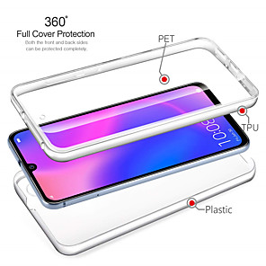 cheap Huawei Case-360 Full Protection Case for Huawei P40 / P40 Pro  P40 Lite P30  P30Pro  Mate 30  30 Pro  30 Lite PC Clear Cover for Huawei Nova 5i Pro 5i  Psmart Z Bumper