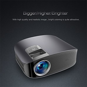 cheap Projectors-YG610 Mini Projector Led Full HD 1080P  Wired Sync Display Beamer Multi Screen Home Theatre HDMI VGA USB