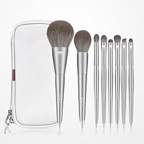 cheap Makeup Brush Sets-Professional Makeup Brushes 10pcs Professional Full Coverage Comfy Artificial Fibre Brush Wooden / Bamboo for Blush Brush Foundation Brush Makeup Brush Eyeshadow Brush