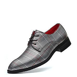 cheap Men's Slip-ons & Loafers-Men's Summer / Fall Classic / Casual Daily Office & Career Oxfords Faux Leather Non-slipping Wear Proof White / Black