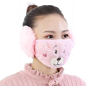 abordables Fournitures jetables-masque animaux mignons modèle polaire anti-poussière hiver adulte thermique des masques de protection respiratoire de la gaze de santé
