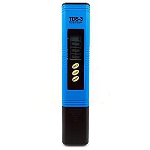 preiswerte Tester & Detektoren-tds-3 digital tds meter 0-9990ppm wasserfilter wasserqualität reinheitsprüfstift (blau)