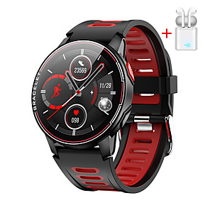 cheap Smartwatches-The new L6 full touch screen smart bracelet heart rate blood pressure waterproof sports stepping smart watch factory