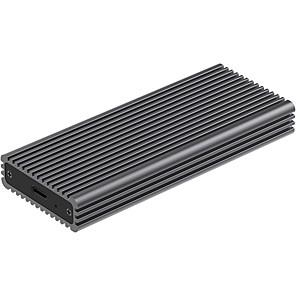 cheap Hard Drive Enclosures-TDBT M.2 NVMe SSD Enclosure with Heat Sink 10Gbps USB-C to PCIe NVMe M.2 Hard Drive Enclosure with Thermal Cooling Pad NVMe M.2 Drive to USB-C External Storage Enclosure Fits M-Key BM Key NVMe SSD