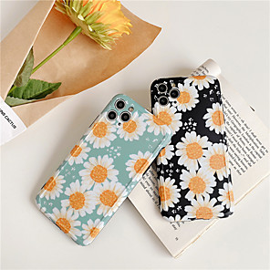 Χαμηλού Κόστους Θήκες iPhone-Flower Sunflower Rose Soft TPU Coque Phone Case for iphone 11 pro xs max xr x 7 8 plus xr se 2020 case silicon capa cover