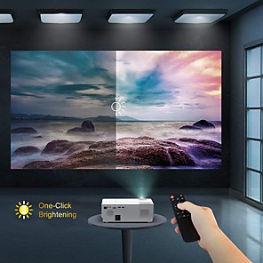 cheap Projectors-LITBest CL770 LED Projector  1920x 1080P Projector 4000 Lux Upgrade Full HD Video Projector Support 4K LCD LED Home Theater Projector