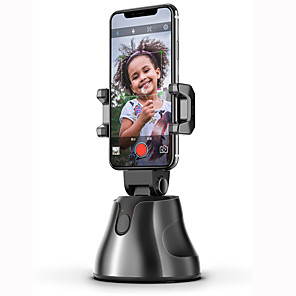 cheap Novelty Lighting-LITBest Apai Genie Auto Smart Shooting Selfie Stick 360° Rotation Object Tracking Holder Portable All-in-one Rotation Face Tracking Object Vlog Camera Phone Holder