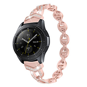 cheap Smartwatch Bands-20mm/22mm Women Diamond Bracelet for Huawei Watch GT2 46mm Huawei Watch GT2 42mm Huawei Watch GT 2e Huawei Quick Release Strap Metal Wrist Belt