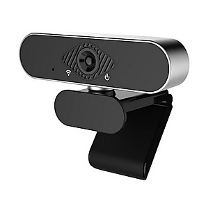 cheap CCTV Cameras-1080P Webcam with Microphone, HD PC Webcam Laptop Plug and Play USB Webcam Streaming Computer Web Camera with 110-Degree View Angle, Desktop Webcam for Video Calling Recording