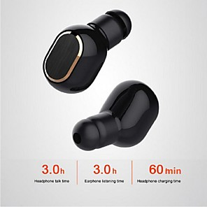 cheap TWS True Wireless Headphones-LITBest K02 TWS True Wireless Earbuds Wireless Bluetooth 5.0 with Microphone HIFI Sweatproof IPX5 Smart Touch Control for Sport Fitness