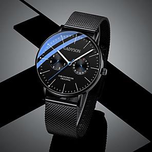 cheap Smartwatches-Men's Sport Watch Quartz Casual Altimeter Black Analog - White Black Blushing Pink / Chronograph / Luminous / Noctilucent / Large Dial