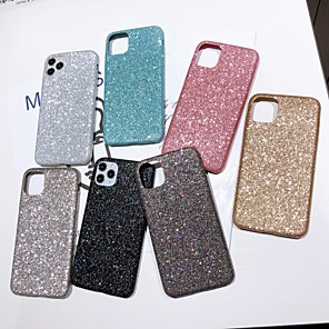 cheap iPhone Cases-Case For Apple iPhone 6 6s 6p 6sp iPhone 7 7P 8 8P iPhone X iPhone iPhone XS iPhone XR iPhone XS max iPhone 11 iPhone 11 Pro iPhone 11 Pro Max Glitter Shine Back Cover Glitter Shine TPU