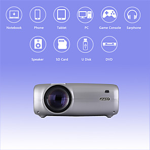 cheap Projectors-U43 Pro Andori 6.0 Projector Compact 2600lm 1080P Full HD Compatible Home Projector Professional Projector for Home Accessories