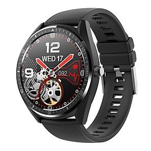 cheap Smartwatches-KW33 IP68 Waterproof Smart Watch Men Bracelet 15 Days Work Time Battery 340mAh Smartwatch Bluetooth IOS Android Band