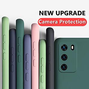 cheap Huawei Case-Liquid Silicone Rubber Soft Case for Huawei P40 P40 Pro P40 Lite P30 P30 Lite P30 Pro Mate 30 Mate 30 Pro