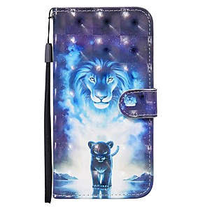 cheap Samsung Case-Case For Samsung Galaxy S20 Ultra S20 Plus S10E A51 A71 Wallet  Card Holder with Stand Full Body Cases Animal PU Leather A10 A20 A30 A30S A40 A50 A50S A70 A11 A01 A21S A41 A81 A91