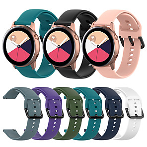 cheap Smartwatch Bands-Silicone Watch Band for Huawei Watch GT2 42mm / Magic Watch 2 42mm / Huawei Watch 2 / Replaceable Bracelet Wrist Strap Wristband