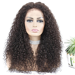 cheap Car Seat Covers-Remy Human Hair Lace Front Wig style Brazilian Hair Jerry Curl Natural Wig 150% Density Women's Long Human Hair Lace Wig