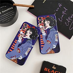cheap iPhone Cases-Girls Women Art Case FOR iPhone XR XS Max X Coque For iPhone 11 Pro Max Case For iPhone 7 8 plus SE 2020 Fundas