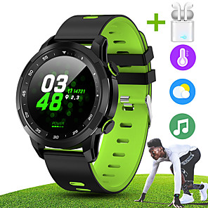 cheap Smartwatches-JSBP HV09 Smart Watch BT Fitness Tracker Support Notify Full Touch Screen/Heart Rate Monitor Sport Stainless Steel Bluetooth Smartwatch Compatible IOS/Android Phones