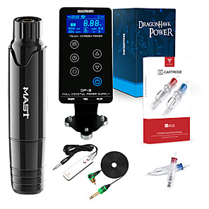 cheap Tattoo Transfers & Supplies-DRAGONHAWK Professional Tattoo Kit Tattoo Machine - 1 pcs Tattoo Machines, Professional Level / Portable / Removable Aluminum Alloy Tattoo Pen