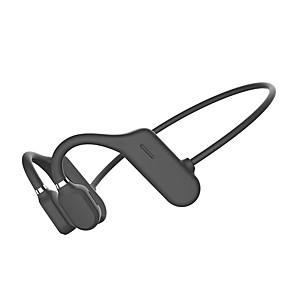 cheap Sports Headphones-LITBest DYY-1 Bone Conduction Earphone Bluetooth5.0 Stereo Open Ended Design Headphone Sweatproof Waterproof 6D Surround Directional Sound Field Headset For Sport