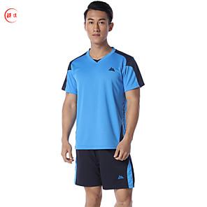 povoljno Nogometni Košulje & Shorts-SPAKCT Muškarci Nogomet Sportska odijela Udobnost Košarka Nogomet Poliester Plava