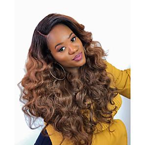cheap 4 Bundles Human Hair Weaves-3 Bundles Hair Weaves Brazilian Hair Body Wave Human Hair Extensions Human Hair 300 g Weave 10-24 inch Brown Natural