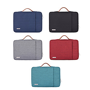 cheap Sleeves,Cases & Covers-10 Inch Laptop / 11.6 Inch Laptop / 12 Inch Laptop Sleeve / Shoulder Messenger Bag / Briefcase Handbags Polyester Simple / Solid Colored Unisex Waterpoof Shock Proof