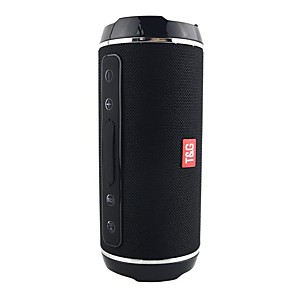 cheap Portable Speakers-TG116 Waterproof Bluetooth Speaker Wireless Portable Speaker Radio Stereo Bass Music Column Loudspeaker Support USB/FM/TF/AUX